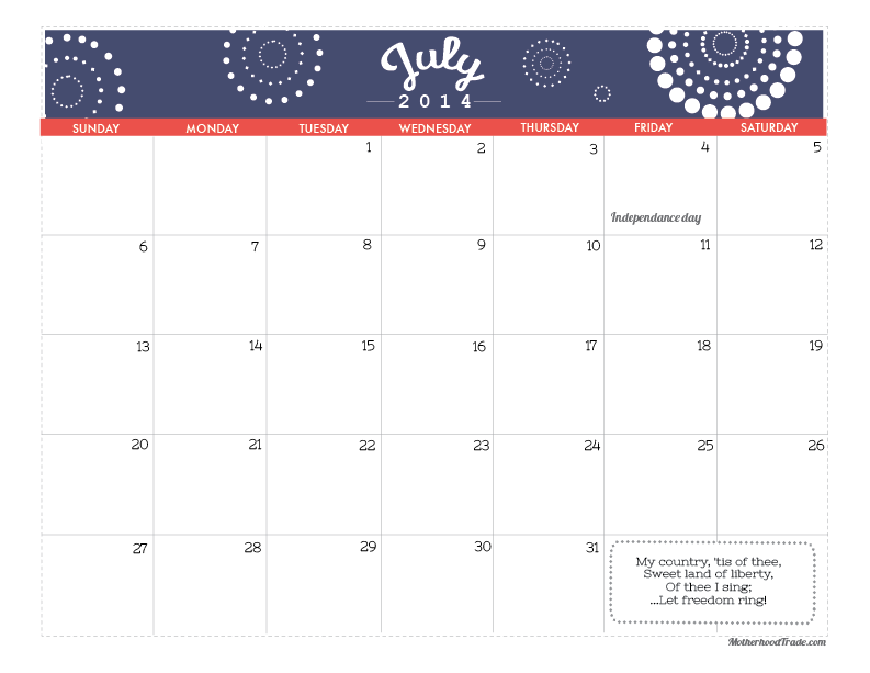 Pdf July Calendar July-2014-calendar.pdf 181